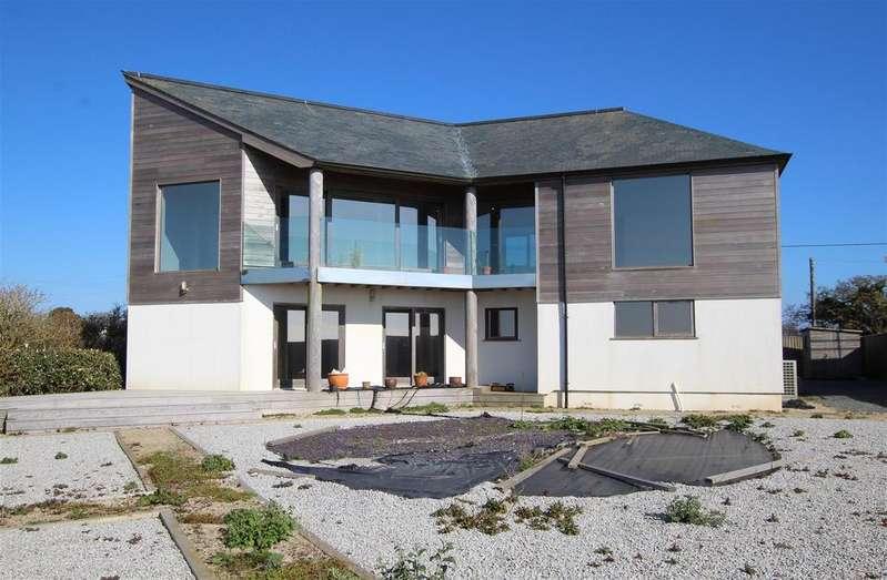 3 Bedrooms Detached House for sale in Trebarvah Lane, Between Perranuthnoe & Marazion