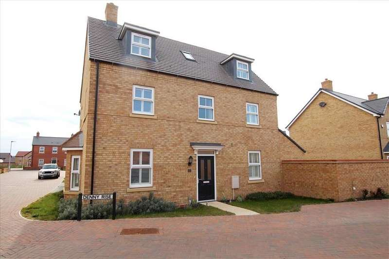4 Bedrooms Detached House for sale in Denny Rise, Biggleswade, SG18
