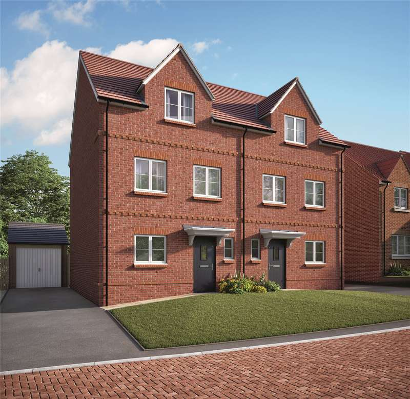 4 Bedrooms Semi Detached House for sale in Shinfield Meadows, Shinfield, Berkshire, RG2