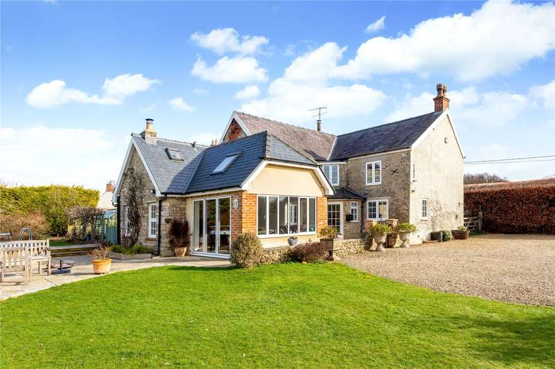 3 Bedrooms Detached House for sale in Monkton Deverill, Warminster, Wiltshire, BA12