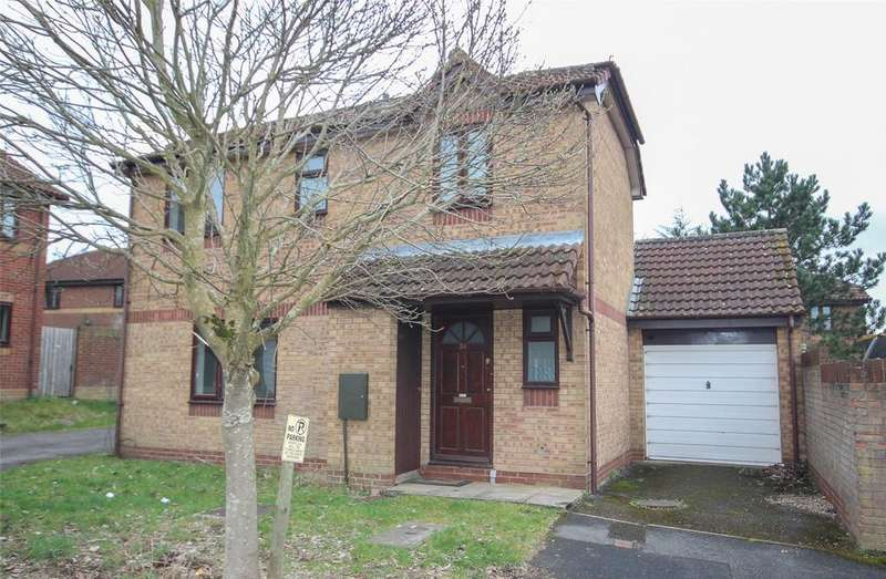 3 Bedrooms Detached House for sale in Whitley Mead, Stoke Gifford, Bristol, BS34