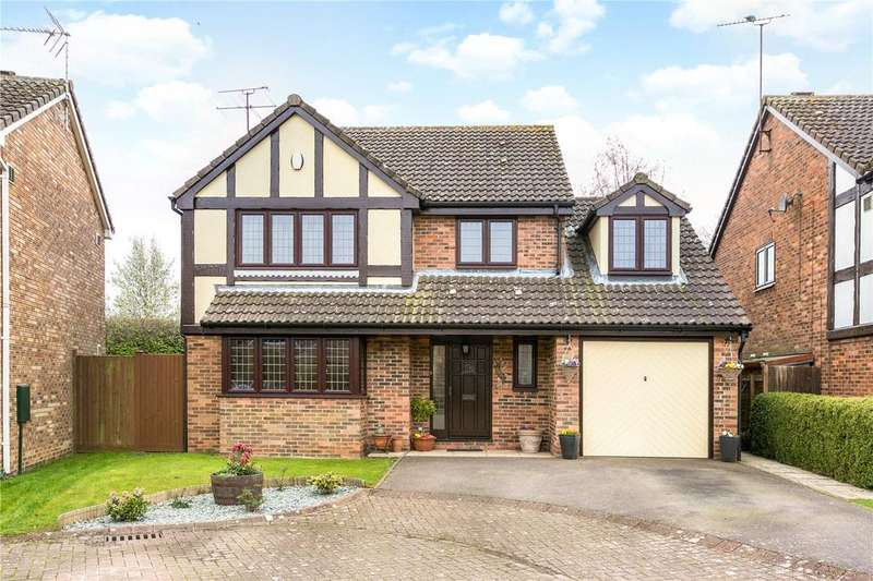 4 Bedrooms Detached House for sale in Prebendal Drive, Slip End, Luton, LU1