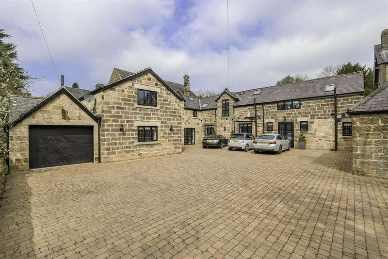6 Bedrooms Barn Conversion Character Property for sale in Highstairs Lane, Stretton, Alfreton, DE55 6FD