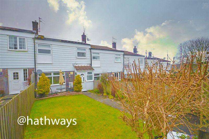 3 Bedrooms Terraced House for sale in Highfield, Penperlleni