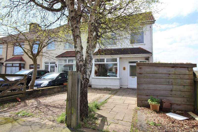 4 Bedrooms End Of Terrace House for sale in Whitehall Avenue, Bristol, BS5 7DF