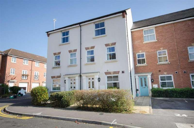 4 Bedrooms Town House for sale in Old Quarry Gardens, Mangotsfield, Bristol, BS16 9AF