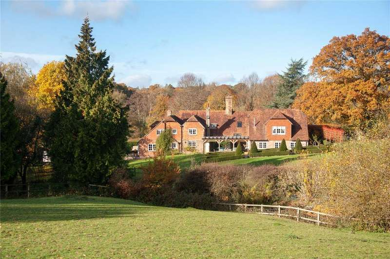 5 Bedrooms Detached House for sale in Waldron Road, Nr Horam, East Sussex