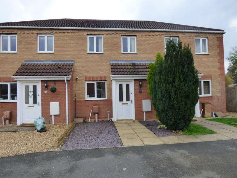 2 Bedrooms Terraced House for sale in The Pastures, Cowbit