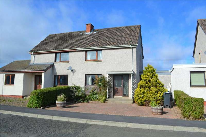 2 Bedrooms Semi Detached House for sale in Lawfield Drive, Ayton, Eyemouth, Berwickshire