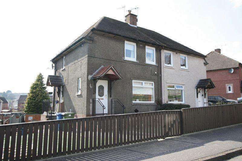 2 Bedrooms Semi Detached House for sale in 5 Braeside, Sauchie