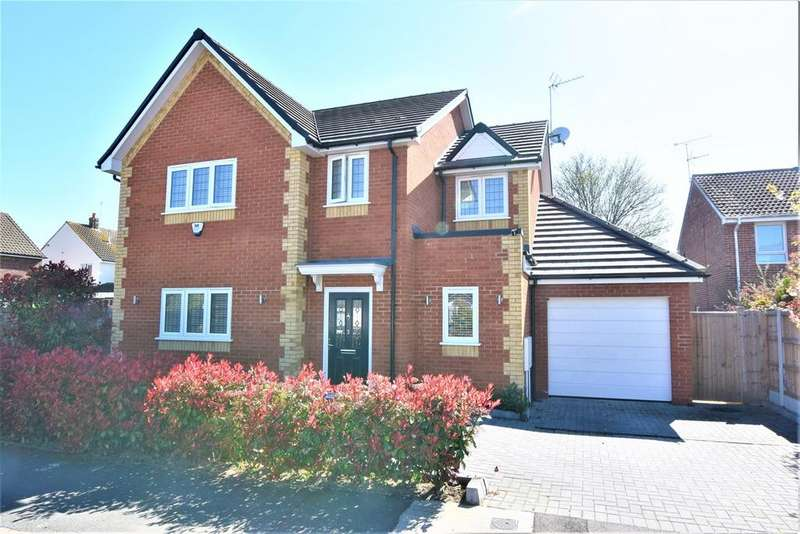 4 Bedrooms Detached House for sale in Whinhams Way, Billericay, CM12