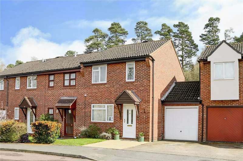 3 Bedrooms End Of Terrace House for sale in Froxfield Down, Forest Park, Bracknell, Berkshire, RG12