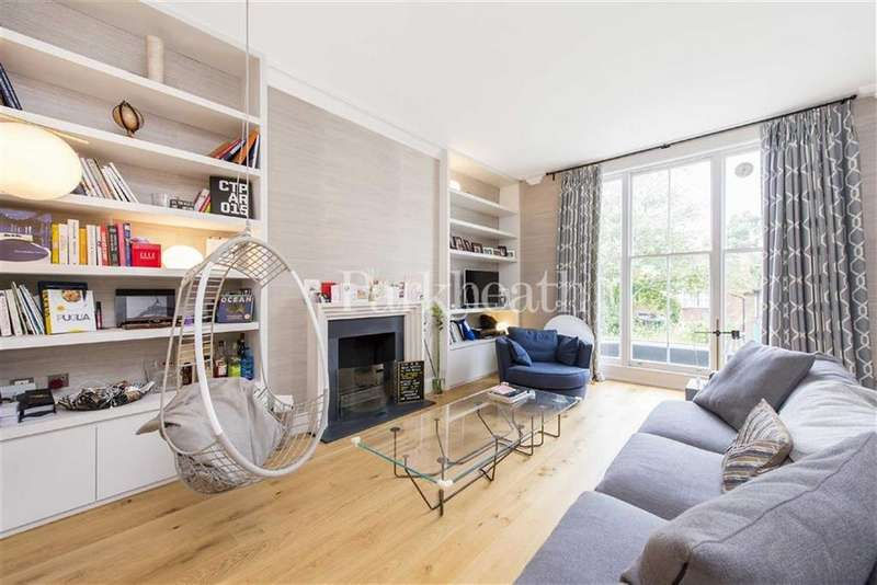 3 Bedrooms Flat for sale in Lawn Road, Belsize Park, London