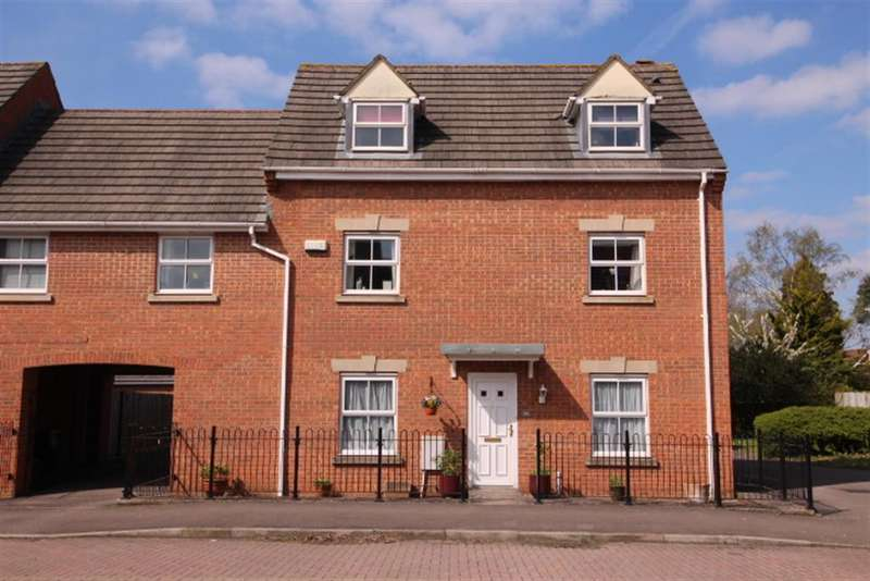 4 Bedrooms Link Detached House for sale in Johnson Road, Emersons Green, Bristol, BS16 7JG