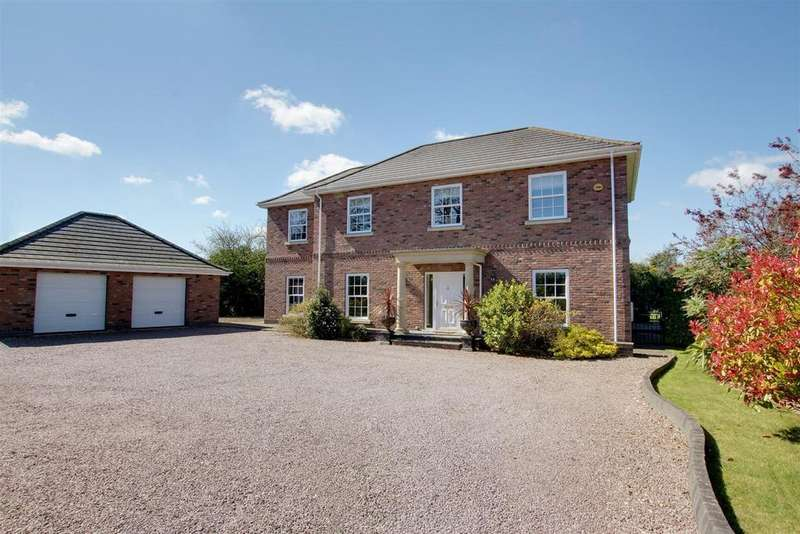 4 Bedrooms Detached House for sale in Main Road, Maltby Le Marsh, Alford