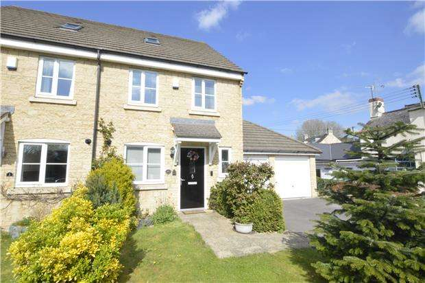 4 Bedrooms Semi Detached House for sale in Regency Close, STONEHOUSE, Gloucestershire, GL10 2AE
