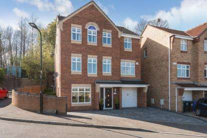 4 Bedrooms Detached House for sale in Rose Hill View, Mosborough, Sheffield, South Yorkshire