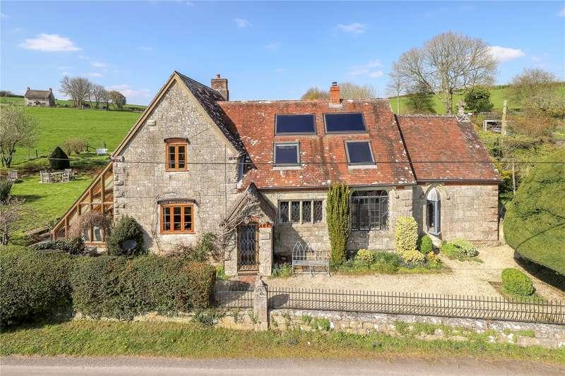 5 Bedrooms Detached House for sale in Chicksgrove, Tisbury, Salisbury, Wiltshire, SP3