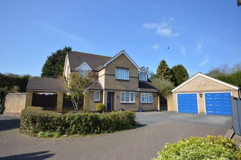 5 Bedrooms Detached House for sale in Hillcroft Close, Hanham, BS15