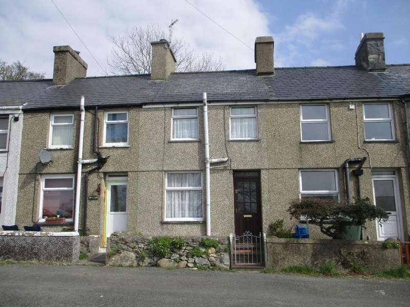 2 Bedrooms Terraced House for sale in 5 Cambrian Terrace, Garndolbenmaen