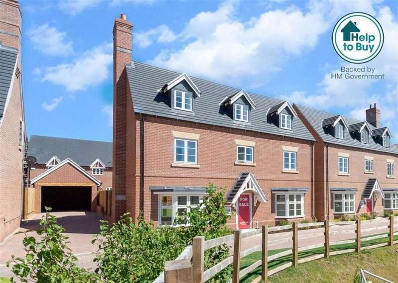 5 Bedrooms Detached House for sale in Storkit Meadows, Rempstone Road, Wymeswold, LE12