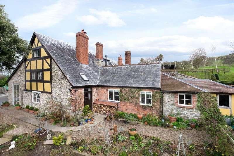 4 Bedrooms Detached House for sale in Upper Dormington, Hereford, HR1