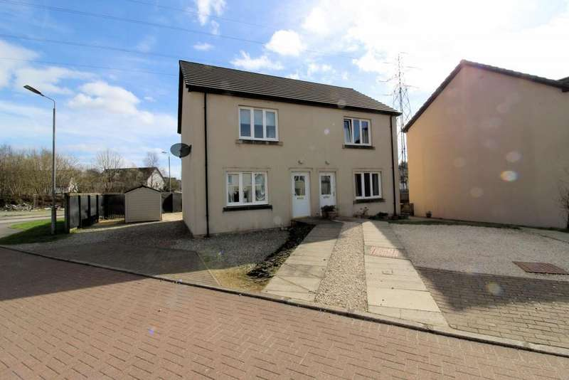 2 Bedrooms Semi Detached House for sale in 1 Cnoc Mor Place, Lochgilphead, PA31 8AH