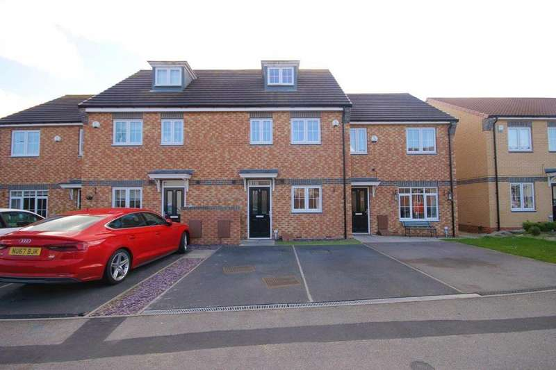 3 Bedrooms Terraced House for sale in Verbena Drive, Billingham