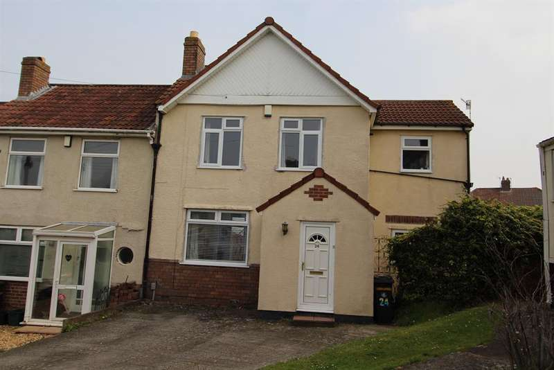 3 Bedrooms End Of Terrace House for sale in Whitwell Road, Hengrove, Bristol, BS14 9DP