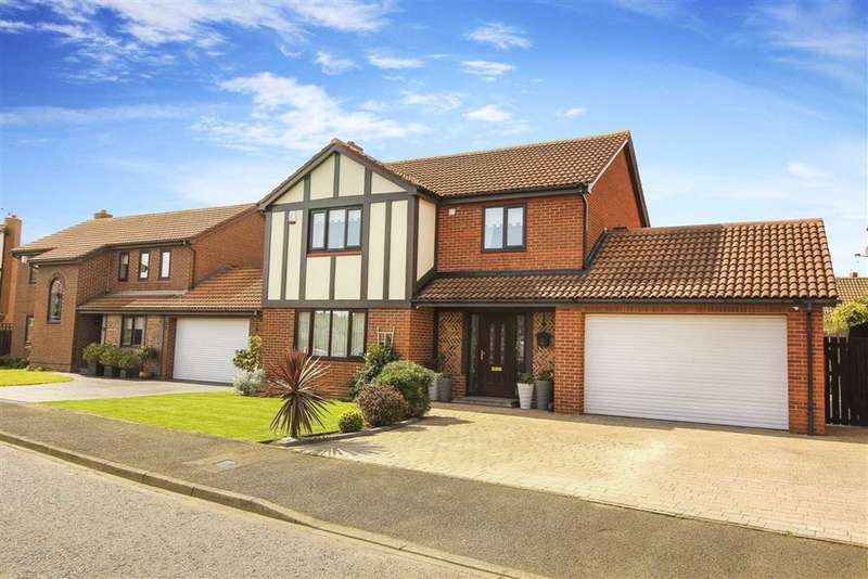 4 Bedrooms Detached House for sale in Kelso Drive, North Shields, Tyne And Wear