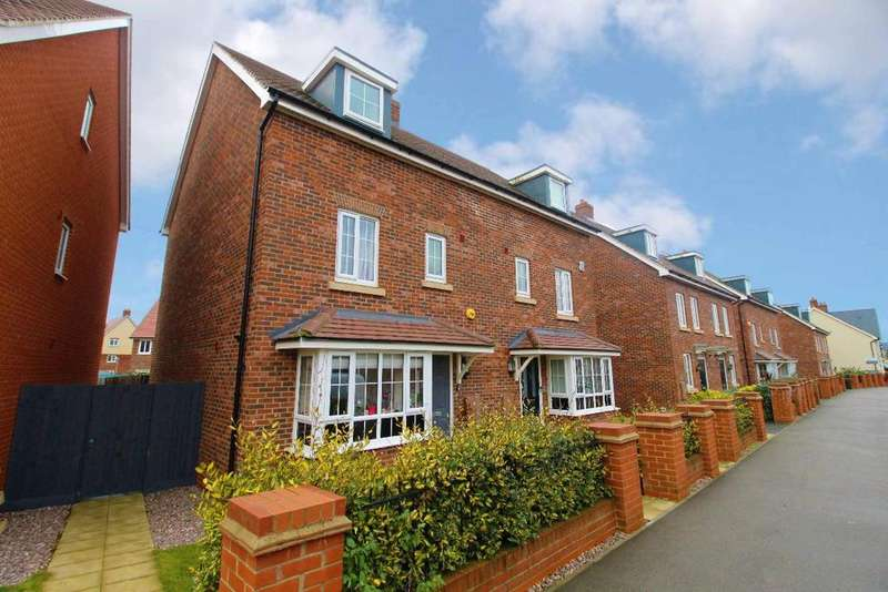 4 Bedrooms Semi Detached House for sale in Gold Furlong, Marston Moretaine, Bedfordshire, MK43