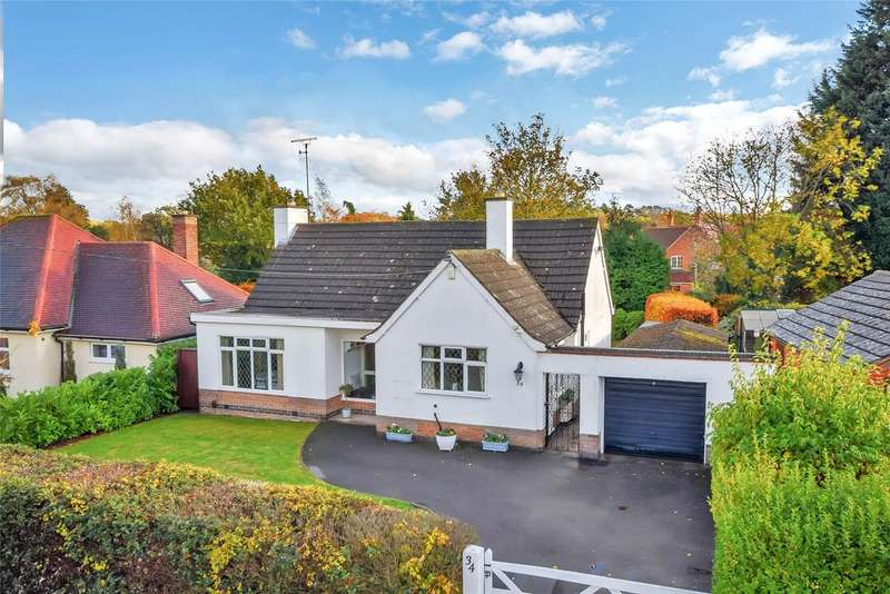 2 Bedrooms Bungalow for sale in Cradock Drive, Quorn, Loughborough
