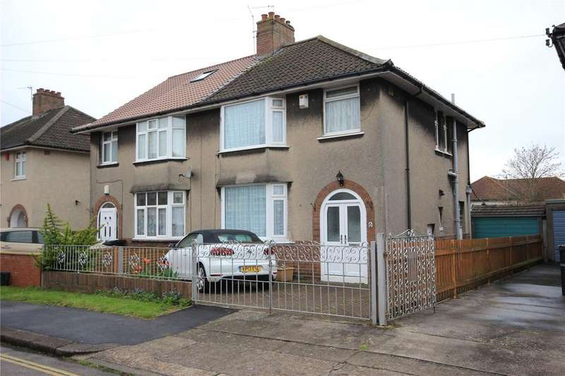 3 Bedrooms Semi Detached House for sale in Grittleton Road, Horfield, Bristol, BS7