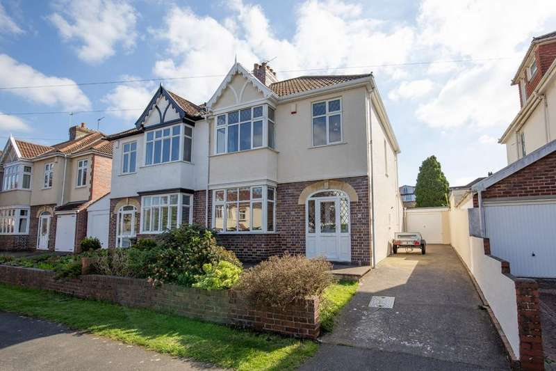 3 Bedrooms Semi Detached House for sale in Bibury Crescent, Westbury-on-Trym, Bristol, BS9