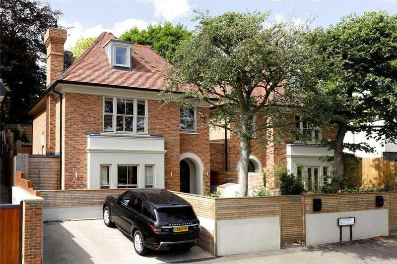 5 Bedrooms Link Detached House for sale in Belvedere Drive, Wimbledon, SW19