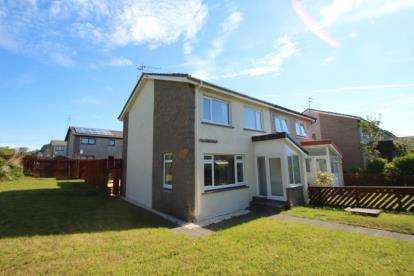 3 Bedrooms Semi Detached House for sale in Talisman Walk, Saltcoats, North Ayrshire