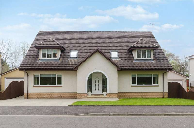 4 Bedrooms Detached House for sale in 26 Berry Drive, Irvine, North Ayrshire, KA12