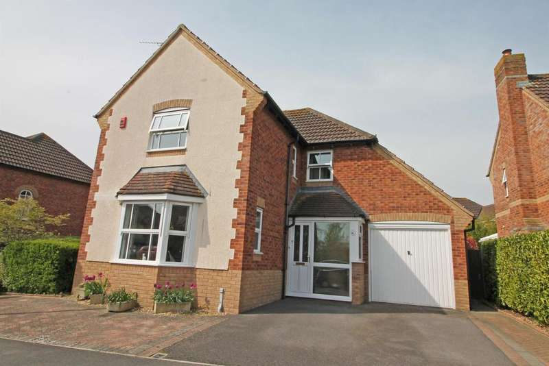 4 Bedrooms Detached House for sale in Watercress Close, Wraxall, North Somerset, BS48 1HN