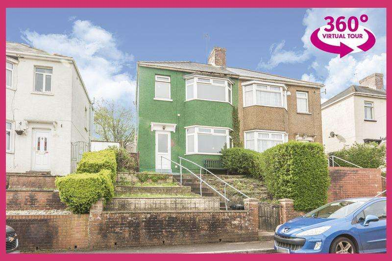 3 Bedrooms Semi Detached House for sale in Queens Close, Newport - REF# 00006725 - View 360 Tour at
