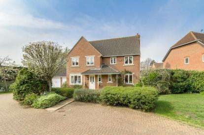 5 Bedrooms Detached House for sale in Thorpe Close, Biddenham, Bedford, Bedfordshire