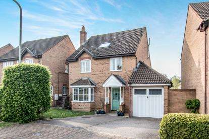 5 Bedrooms Detached House for sale in Asgard Drive, Bedford, Bedfordshire
