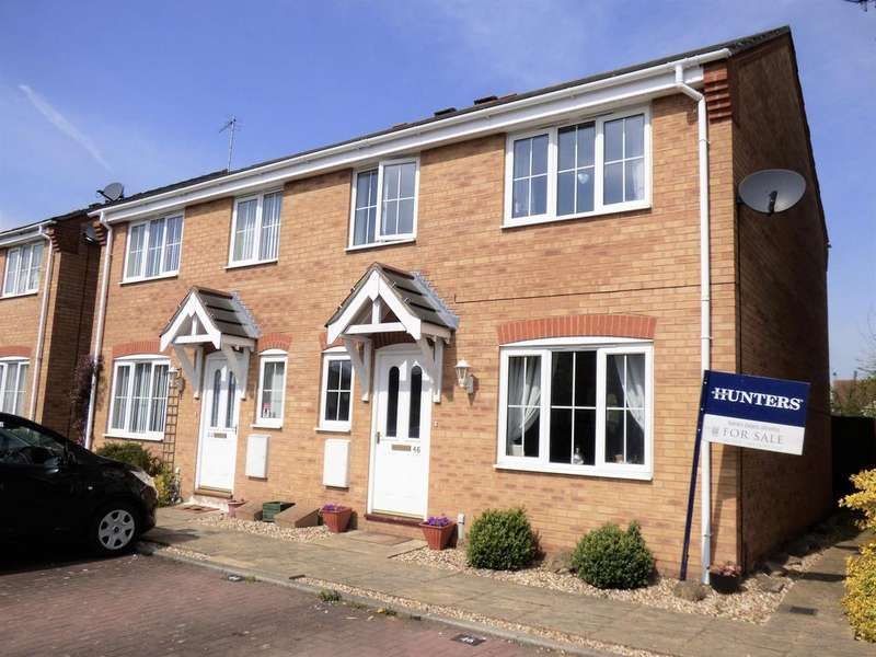 3 Bedrooms Semi Detached House for sale in Alexander Drive, Louth, LN11 8QG