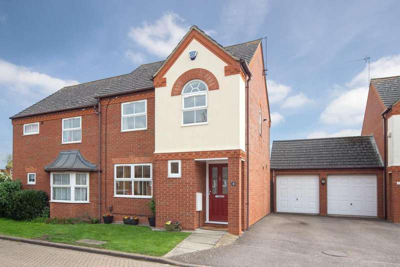 3 Bedrooms Semi Detached House for sale in Brazier Close, Barton-Le-Clay.