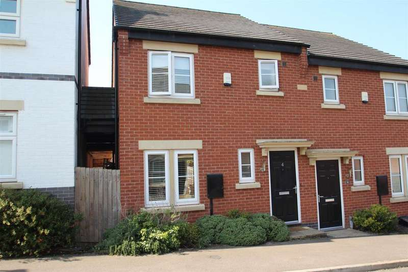 3 Bedrooms Semi Detached House for sale in Burtons Road, Rothley, Leicester