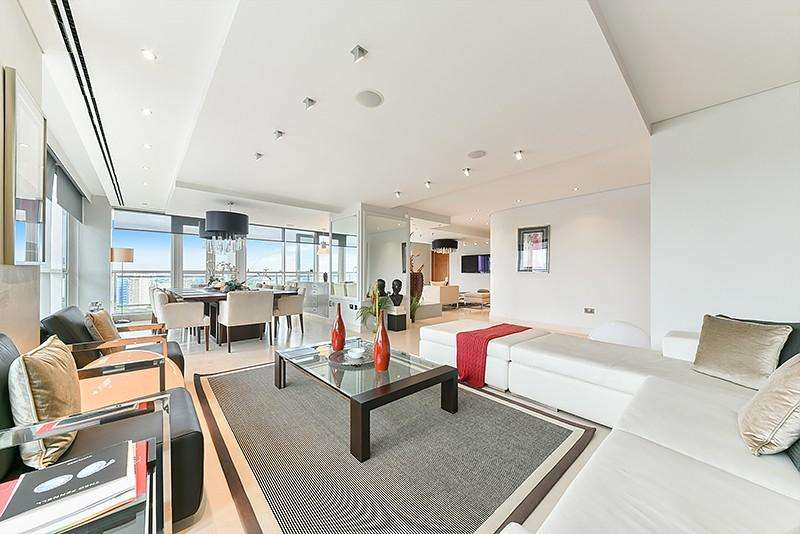 4 Bedrooms Flat for rent in Belgrave Court, Westferry Circus, Nr Canary Wharf, London, E14