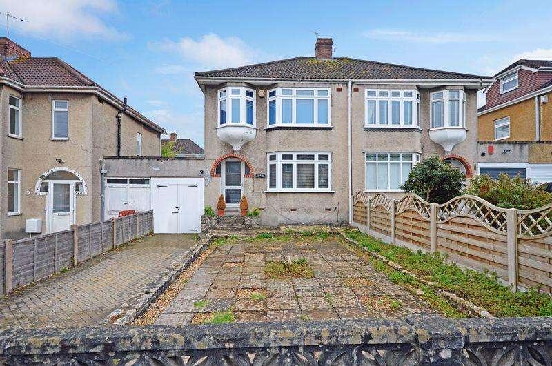 3 Bedrooms Semi Detached House for sale in Vicarage Road, Bishopsworth, Bristol