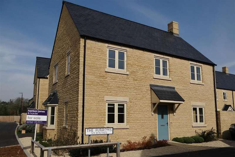 4 Bedrooms Detached House for sale in The Furrows, Bourton on the Water, Gloucestershire
