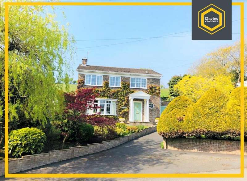 4 Bedrooms Detached House for sale in Pentrepoeth Road, Llanelli, Carmarthenshire, SA15