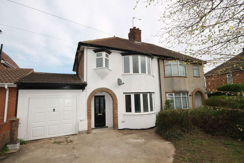 3 Bedrooms Semi Detached House for sale in Brackley Road, Bedford, MK42