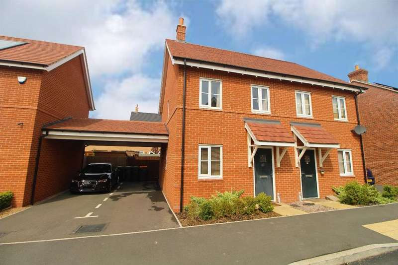 2 Bedrooms Semi Detached House for sale in Cantley Road, Great Denham, Bedfordshire, MK40